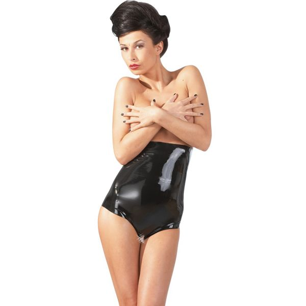 Latex Taillenslip ouvert